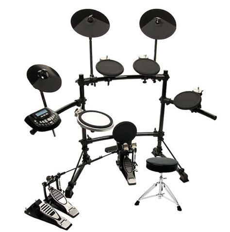 Usb Drum Kit dkx 580 usb 5 electronic drum set w bass pedal and throne shop siglermusic lmtd