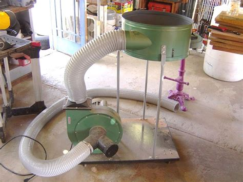 woodworking dust collection design woodworking cyclone dust collector plans diy plans pdf