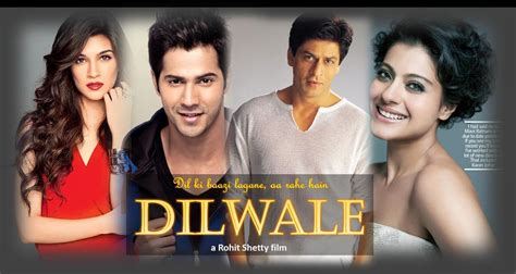 film india terbaru shahrukh khan full movie bollywood dilwale movie review rating hit or flop