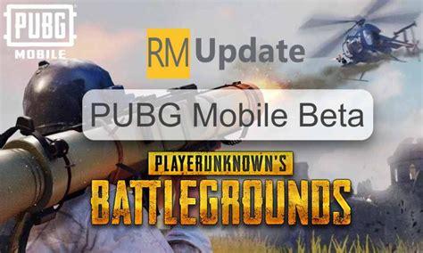 pubg mobile beta  update apk  link features
