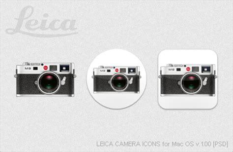 leica camera icons for mac os v.1.00 [psd] by ezboi on