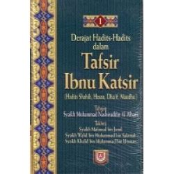 Syarah Hadits Arbain Utsaimin Pustaka Ibnu Katsir derajat hadits hadits dalam tafsir ibnu katsir 1 set 3 jilid lengkap bukumuslim co