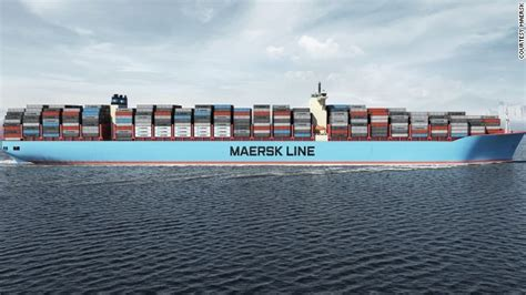 biggest shipping vessel in the world maersk triple e introducing the world s biggest ship