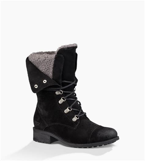 ugg boots for sale ugg 174 womens gradin suede boots black uk store