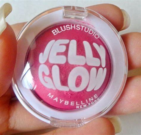 Blush On Maybelline Jelly Glow maybelline 01 pop pink blush studio jelly glow blush review
