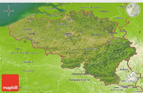 geographical map of belgium satellite 3d map of belgium physical outside satellite sea