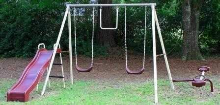 old metal swing set pinterest the world s catalog of ideas
