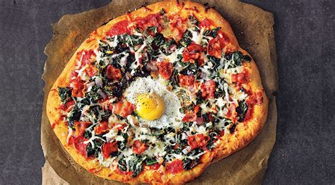 protein 2 slices bacon grab a protein packed slice of kale bacon pizza