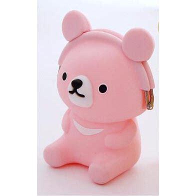 dompet mini beruang dompet koin rilakkuma pink jakartanotebook