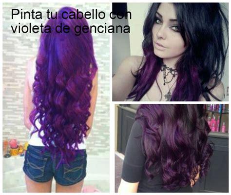 imagenes para pintar el cabello consejos para pintar el cabello con violeta de genciana