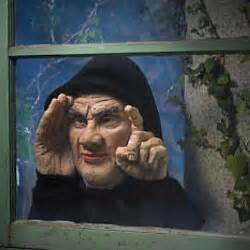 Creepy Curtains Lifesize Peeping Tom That Taps On Your Window Halloween