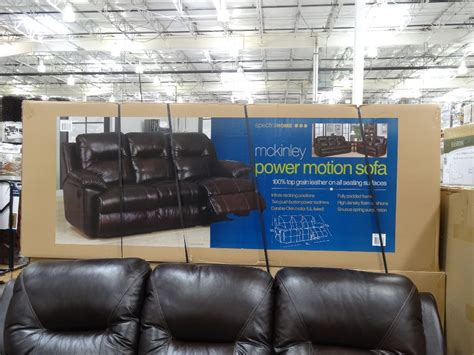 power reclining sofa costco spectra mckinley power motion sofa costco home