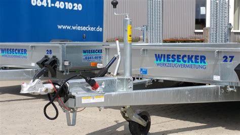 Anh Nger Mieten Wetzlar by Wiesecker Werkzeugvermietung Anh 228 Nger Maschinentransport