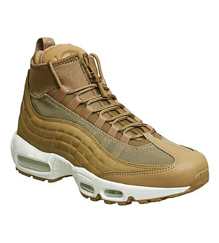 nike air max 95 sneakerboot leather and fabric high top