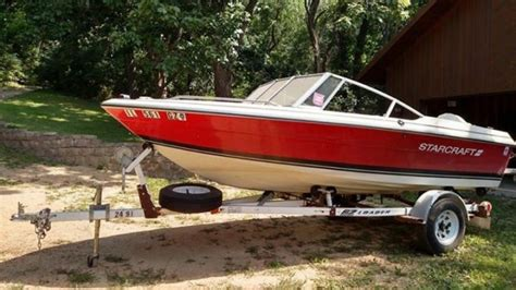 1987 starcraft pleasure boat 16 ft with ez loader trailer - Starcraft Pleasure Boats