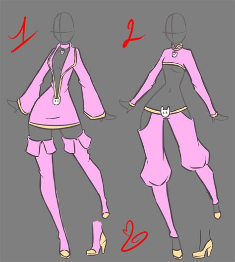 design clothes for girl oc clothes design by rika dono on deviantart