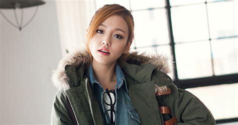 Gw 01 3tone Koream Blouse 2fb fur trimmed two tone parka korean fashion k pop styles fashion