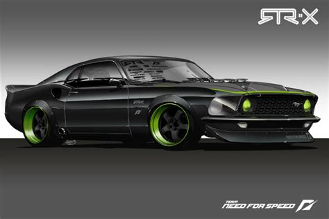 the dynacorn 69 mustang fastback shell for the kid in us