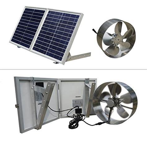 solar gable attic fan eco worthy 25w solar powered attic ventilator gable roof