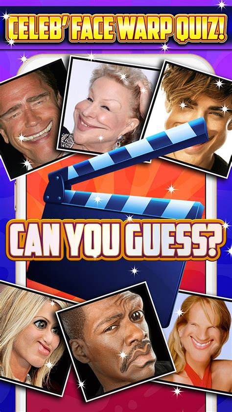 celebrity trivia games online celeb face warp quiz a guess the star celebrity pic