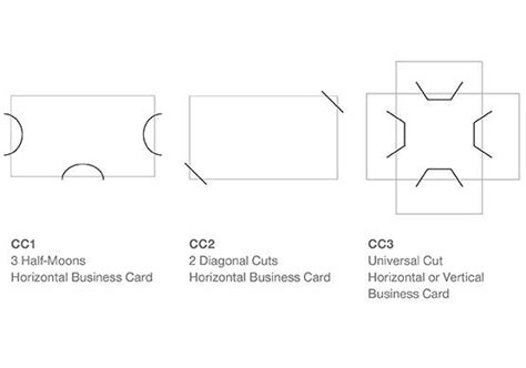 Add Business Card Cuts To Your Custom Presentation Folder Business Card Slits Template