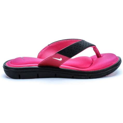 nike memory foam slippers nike comfort flip flop pink sandals shoes memory