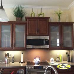 Glass Panels For Kitchen Cabinets Frosted Glass For Cabinet Doors