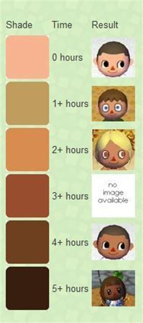acnl hair chart 17 best images about acnl tutorials guides