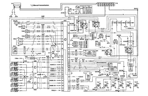 volvo 960 1995 wiring diagrams fuel controls