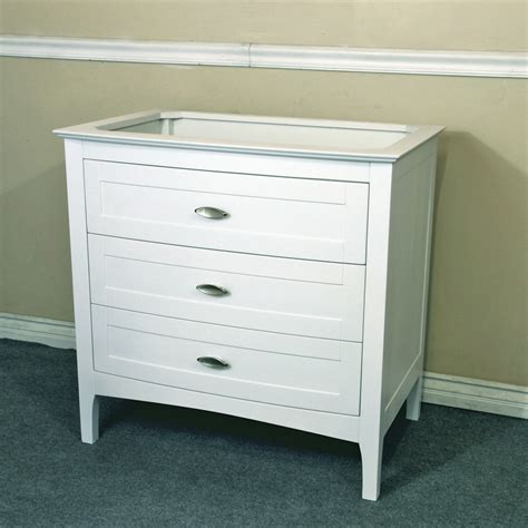 Htons Style Bathroom Vanity by Bellaterra Home 35 Inch Single Sink Vanity Base Only