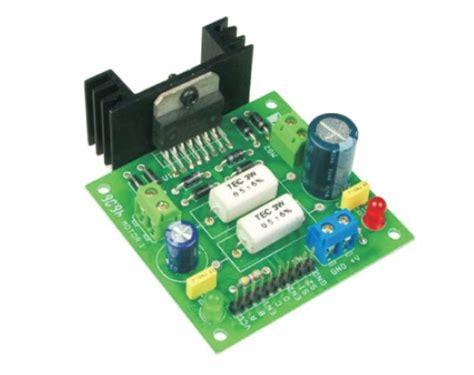 L298 Motor Driver By Warungarduino dual motor l298 h bridge motor electronics infoline