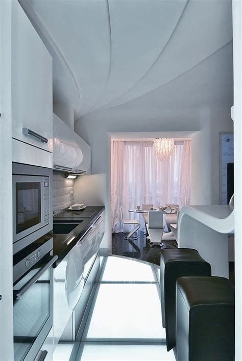 futuristic decor interior design ideas futuristic apartment interior that reminds a salt cave