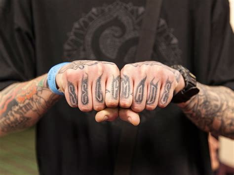 knuckle tattoo about knuckles