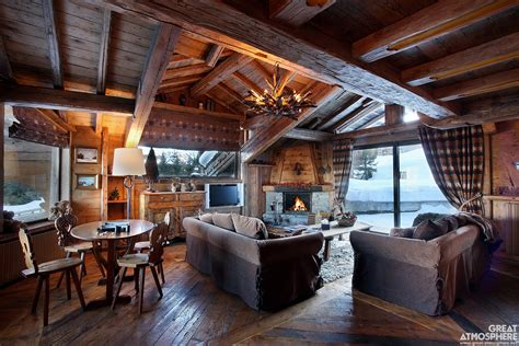 Wood Interior Homes House Great Atmosphere