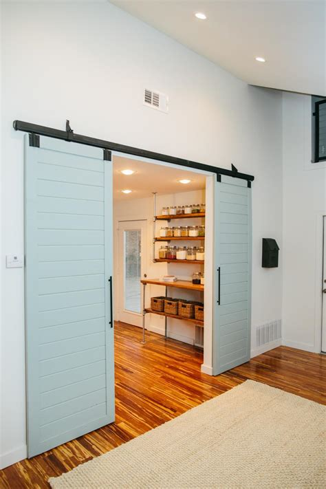 kitchen pantry barn doors trendir