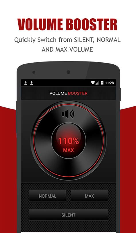 headphone volume booster for android volume booster free android app the free volume booster app to your android