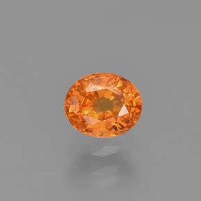 Spessartite Garnet 8 76ct 0 8 carat ovalada 5 6x4 6 mm 0 and