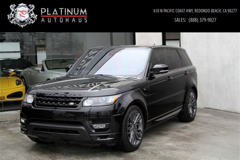 land rover range rover sport 2016 2016 land rover range rover sport hst limited edition