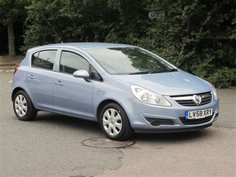 opel corsa 2009 used 2009 vauxhall corsa blue edition petrol for sale in