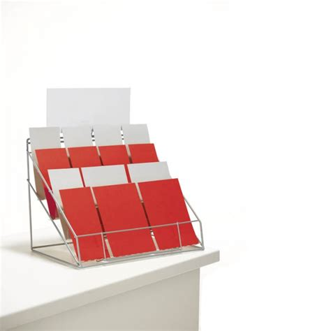 Gift Card Display Stand - counter standing leaflet display stand card display stands leaflet displays