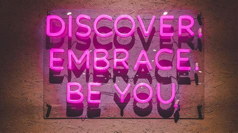 discover  wallpaper embrace   pink neon