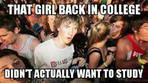 College Girl Meme - 63 cool college memes