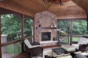 7 sunroom fireplaces to warm you up four season porch