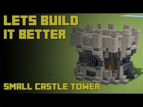 build a small castle minecraft tutorials how to build a small medieval castle