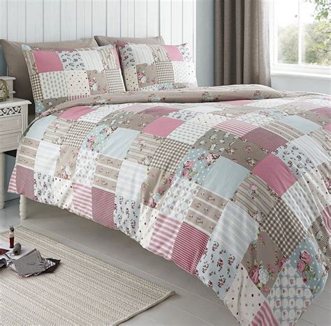Patchwork Duvets - changingbedrooms king size classic molly pink floral