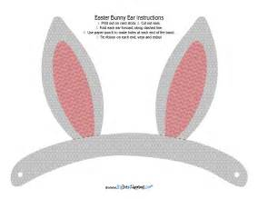 Bunny Ear Template Printable by Hippity Hoppity Bunny Ear Free Printable Big Dot Of