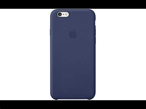 coque iphone 6 bleu marine en cuir d apple
