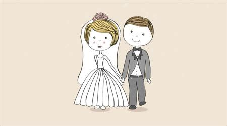 Wedding Animation by Wedding Invitation Background Stock Royalty Free