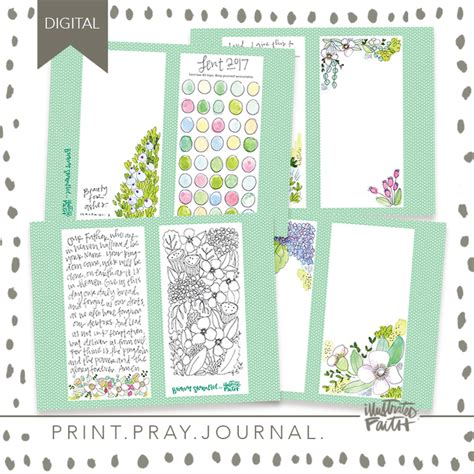 printable lent journal 2017 lent journal kit illustrated faith