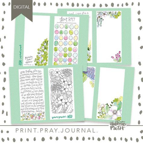 printable lenten journal 2017 lent journal kit illustrated faith